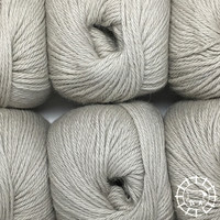 «Woolpack Yarn Collection» Baby Alpaca DK – Fumée