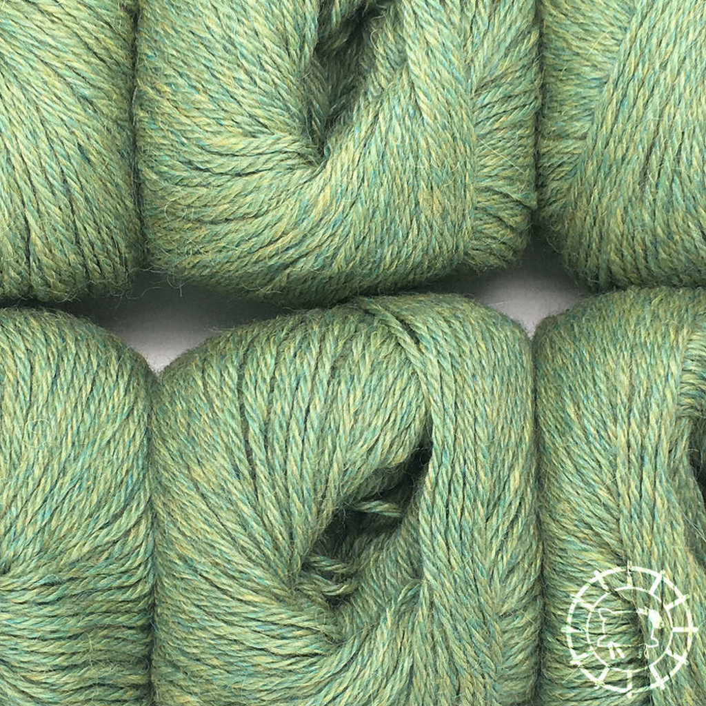 «Woolpack Yarn Collection» Baby Alpaca DK, chinée – Tilleul