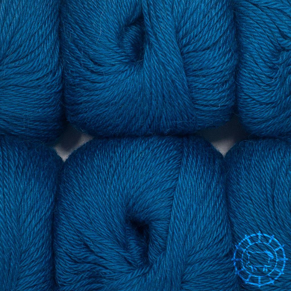 «Woolpack Yarn Collection» Baby Alpaka DK – Pfau