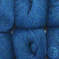 «Woolpack Yarn Collection» Baby Alpaka DK, meliert – Deep Ocean