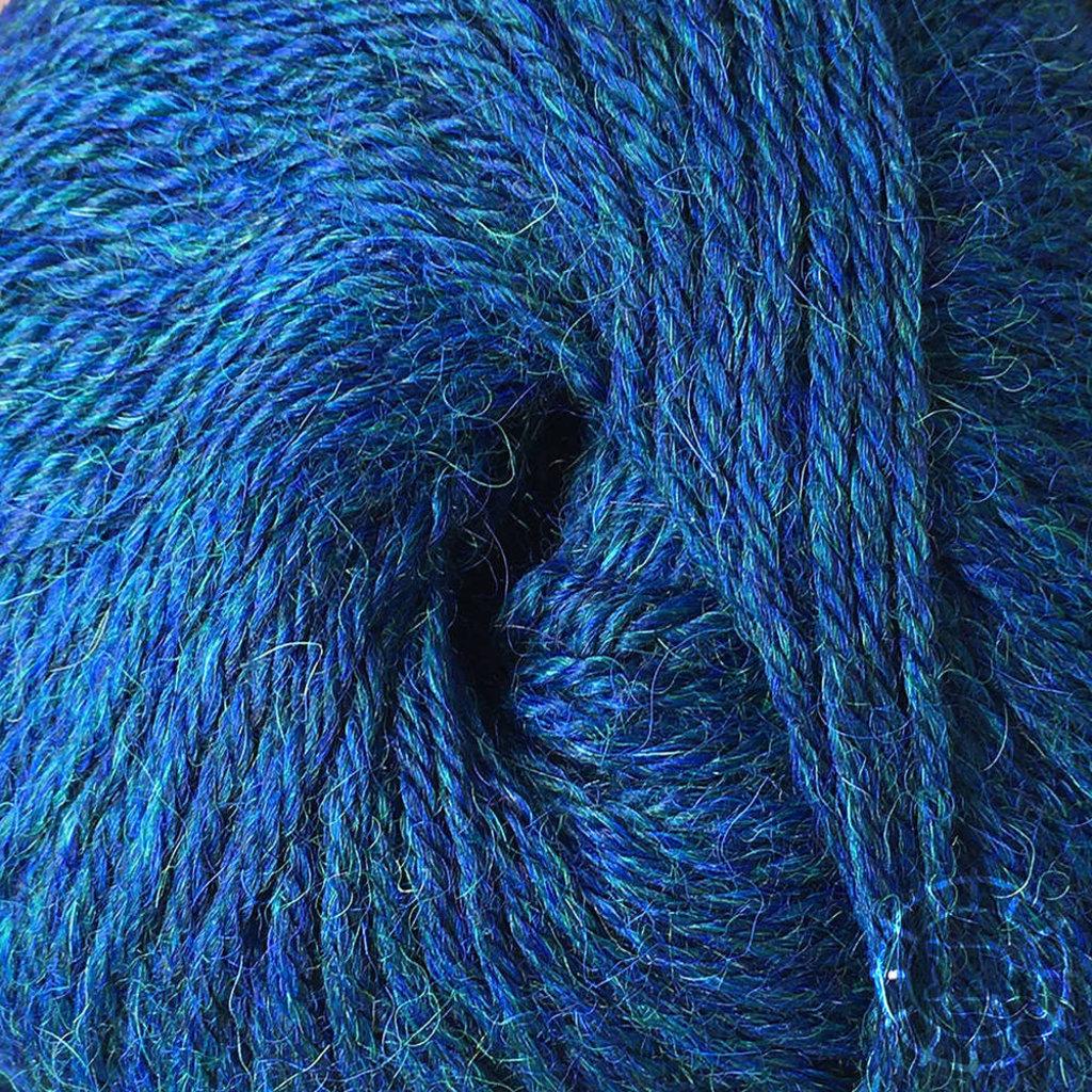 «Woolpack Yarn Collection» Baby Alpaca DK, chinée – Deep Ocean
