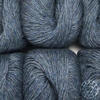 «Woolpack Yarn Collection» Baby Alpaka DK, meliert – Graublau