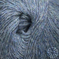 «Woolpack Yarn Collection» Baby Alpaca DK, chinée – Gris-bleu
