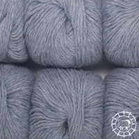 «Woolpack Yarn Collection» Baby Alpaca DK, chinée – glacier