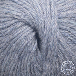 «Woolpack Yarn Collection» Baby Alpaca DK, chinée – glacier
