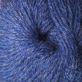 «Woolpack Yarn Collection» Baby Alpaca DK, chinée – Bleu foncé