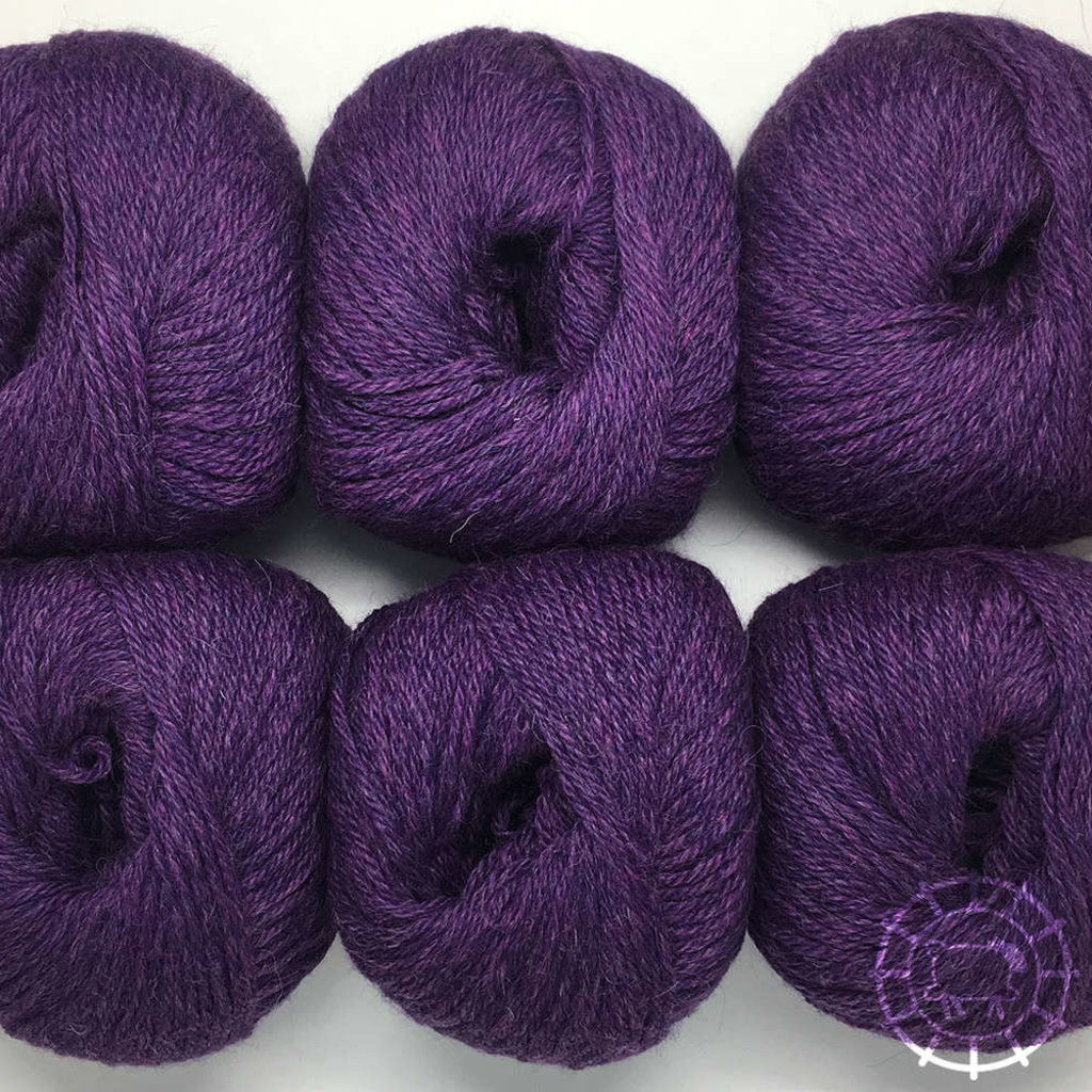 «Woolpack Yarn Collection» Baby Alpaca DK, chinée – Violet