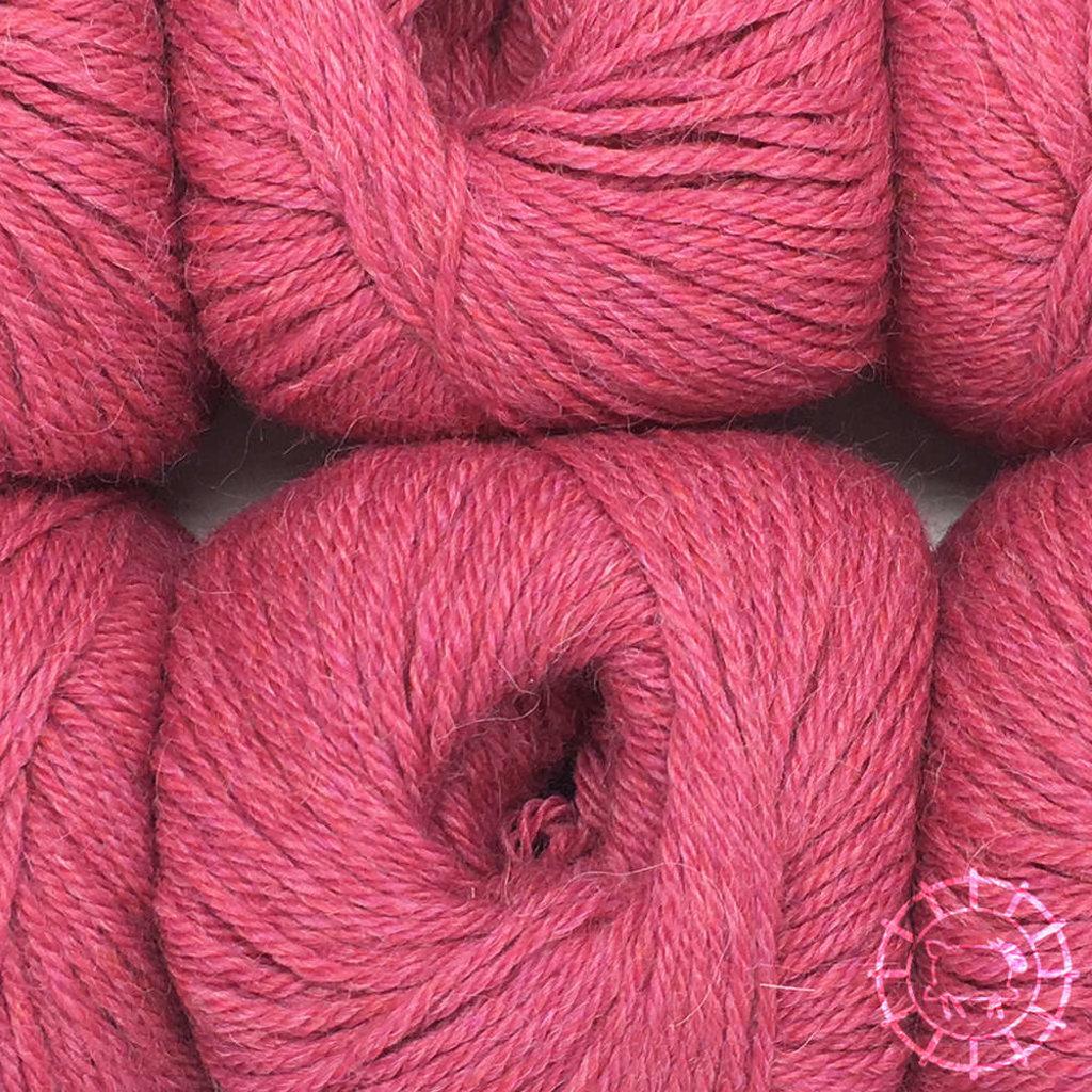 «Woolpack Yarn Collection» Baby Alpaka DK, meliert – Himbeertraum