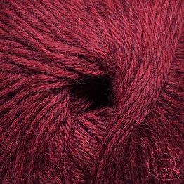 «Woolpack Yarn Collection» Baby Alpaka DK, meliert – Merlot