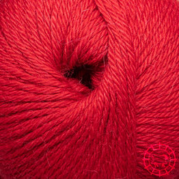 Baby Alpaka DK – sehr Rot