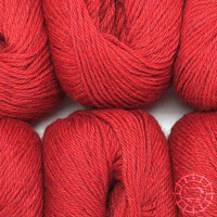«Woolpack Yarn Collection» Baby Alpaca DK, chinée – Rouge tomate