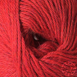 «Woolpack Yarn Collection» Baby Alpaka DK, meliert – Tomate