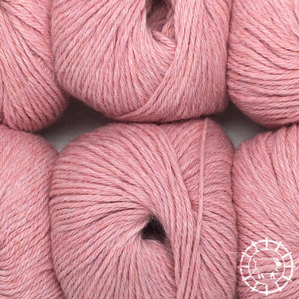 «Woolpack Yarn Collection» Baby Alpaka DK, meliert – Perlrosa