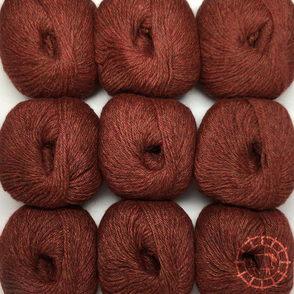 «Woolpack Yarn Collection» Baby Alpaka DK, meliert – Herbstlaub