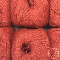 «Woolpack Yarn Collection» Baby Alpaka DK, meliert – Ziegel