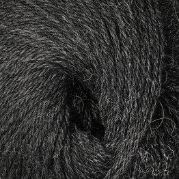 «Woolpack Yarn Collection» Baby Alpaka DK, meliert – Anthrazit