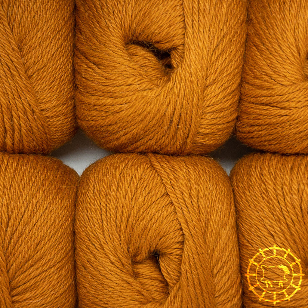 «Woolpack Yarn Collection» Baby Alpaca DK – Orange
