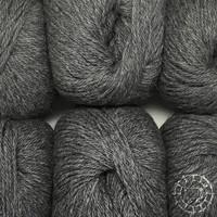 «Woolpack Yarn Collection» Baby Alpaka DK, meliert – Dunkelgrau
