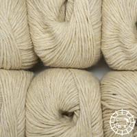 «Woolpack Yarn Collection» Baby Alpaca DK, non colorée – Jaune de mouton