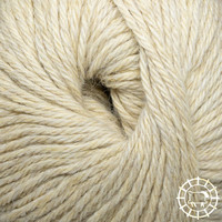 «Woolpack Yarn Collection» Baby Alpaka DK, ungefärbt – Schäfchengelb