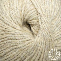 «Woolpack Yarn Collection» Baby Alpaca DK, non colorée – Jaune de mouton
