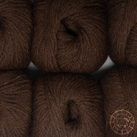 «Woolpack Yarn Collection» Baby Alpaca DK, chinée – Chocolat