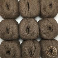 «Woolpack Yarn Collection» Baby Alpaka DK, meliert – Camel