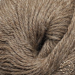 «Woolpack Yarn Collection» Baby Alpaka DK, meliert – Camel