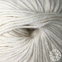 «Woolpack Yarn Collection» Baby Alpaka DK, ungefärbt – Schäfchenweiss