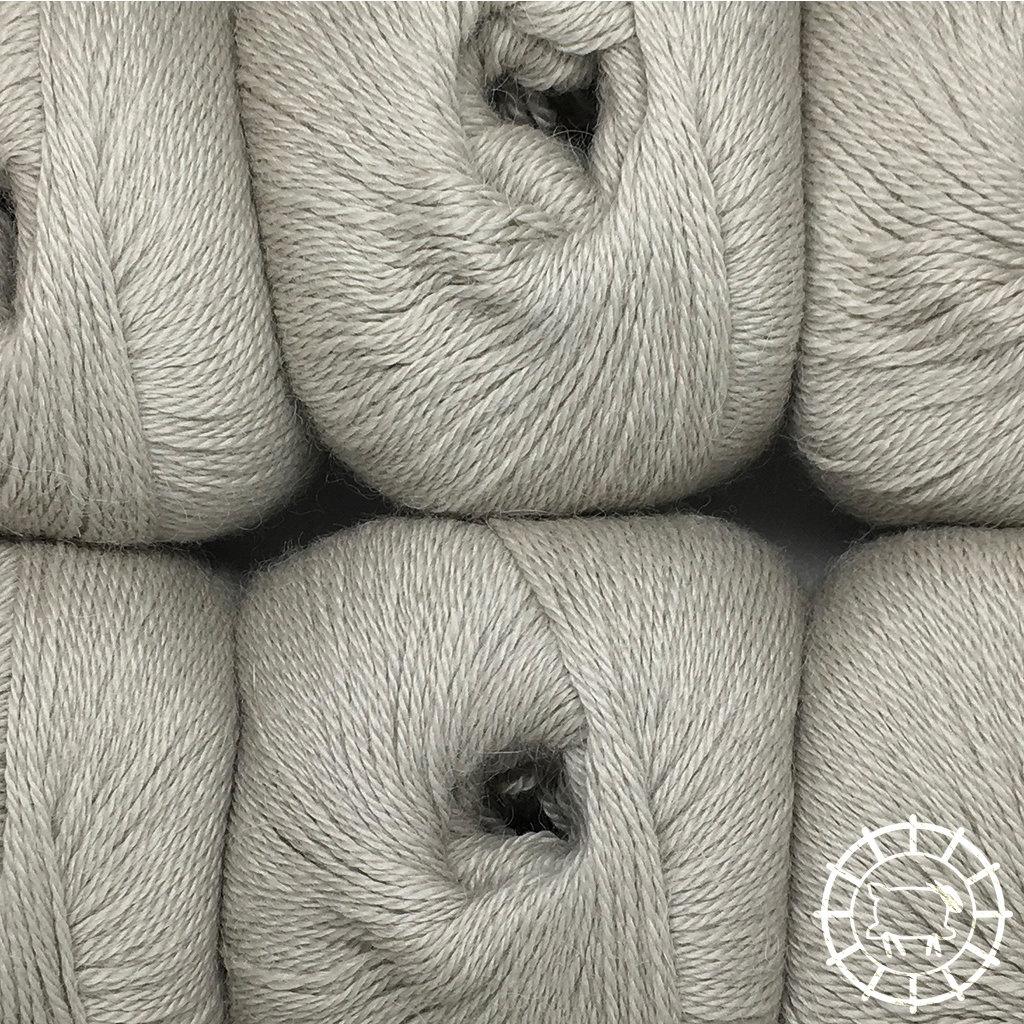 «Woolpack Yarn Collection» Baby Alpaca Fingering – Fumée