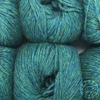 «Woolpack Yarn Collection» Baby Alpaca DK – Bleu-vert