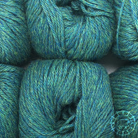 «Woolpack Yarn Collection» Baby Alpaka DK – Blaugrün