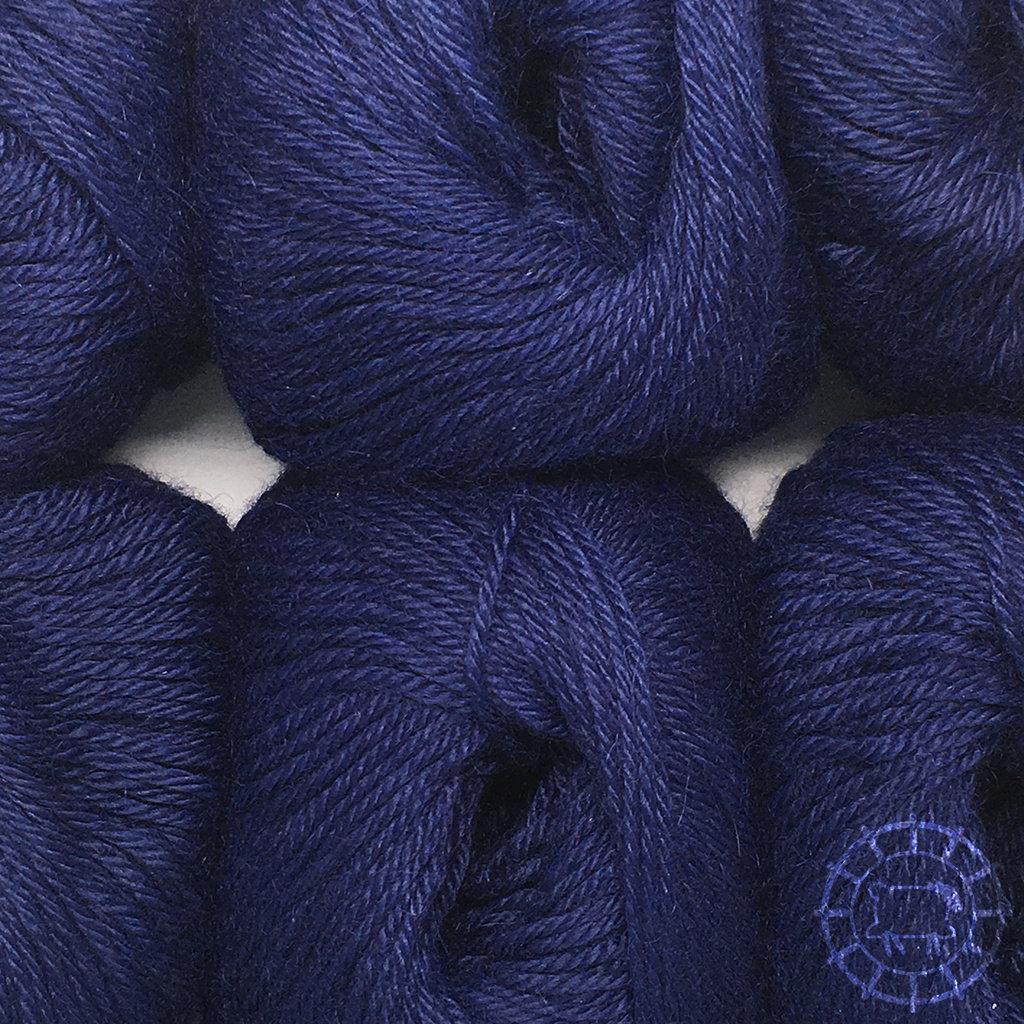 «Woolpack Yarn Collection» Baby Alpaca DK – Bleu nuit