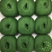 «Woolpack Yarn Collection» Baby Alpaka Fingering – Eichenlaub