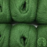 «Woolpack Yarn Collection» Baby Alpaca Fingering – Feuilles de chêne