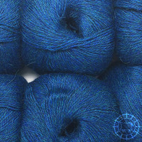 «Woolpack Yarn Collection» Baby Alpaka Fingering, meliert – Deep Ocean