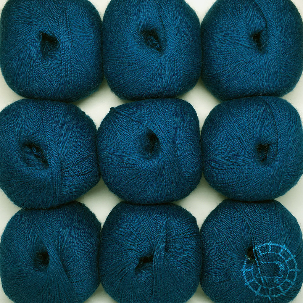 «Woolpack Yarn Collection» Baby Alpaka Fingering – Petrol
