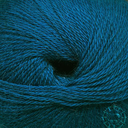 «Woolpack Yarn Collection» Baby Alpaca Fingering – Bleu pétrole