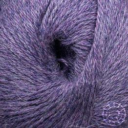 «Woolpack Yarn Collection» Baby Alpaka Fingering, meliert – Mittel-Lila