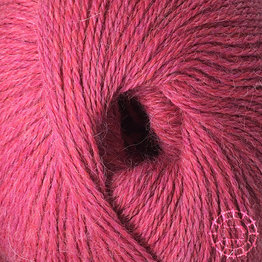 «Woolpack Yarn Collection» Baby Alpaka Fingering, meliert – Himbeersahne