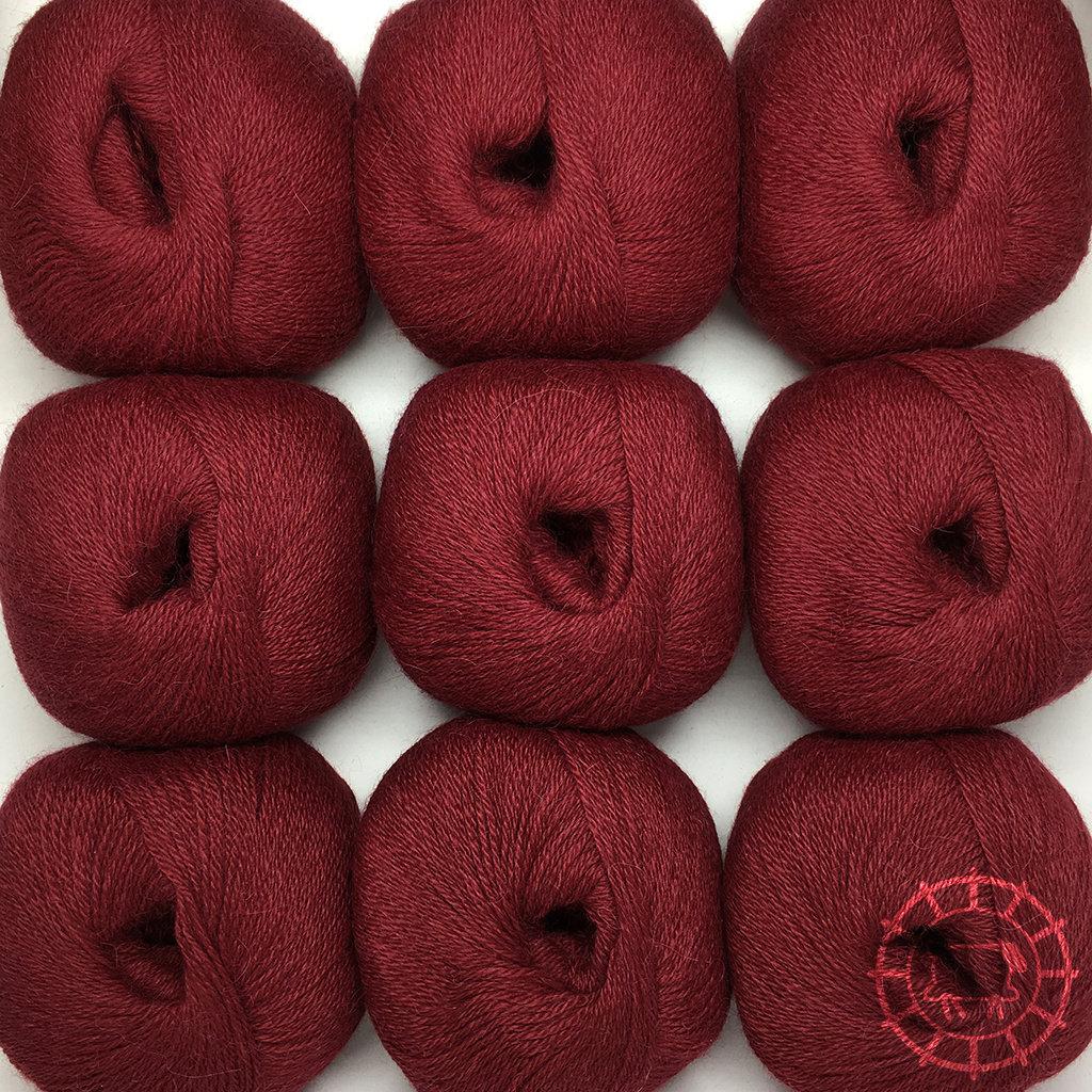 «Woolpack Yarn Collection» Baby Alpaka Fingering – Rioja