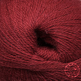 «Woolpack Yarn Collection» Baby Alpaka Fingering – Weinrot