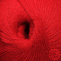«Woolpack Yarn Collection» Baby Alpaca Fingering – Rouge