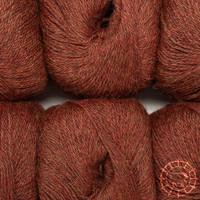 «Woolpack Yarn Collection» Baby Alpaka Fingering, meliert – Herbstlaub