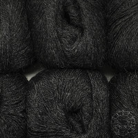 «Woolpack Yarn Collection» Baby Alpaka Fingering – Anthrazit