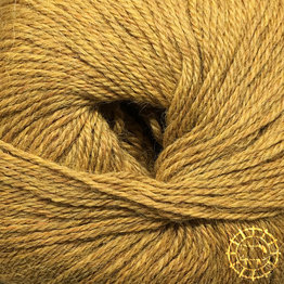 «Woolpack Yarn Collection» Baby Alpaka Fingering, meliert – Senfgelb