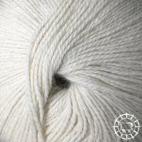 «Woolpack Yarn Collection» Baby Alpaka Fingering, ungefärbt – Schäfchenweiss