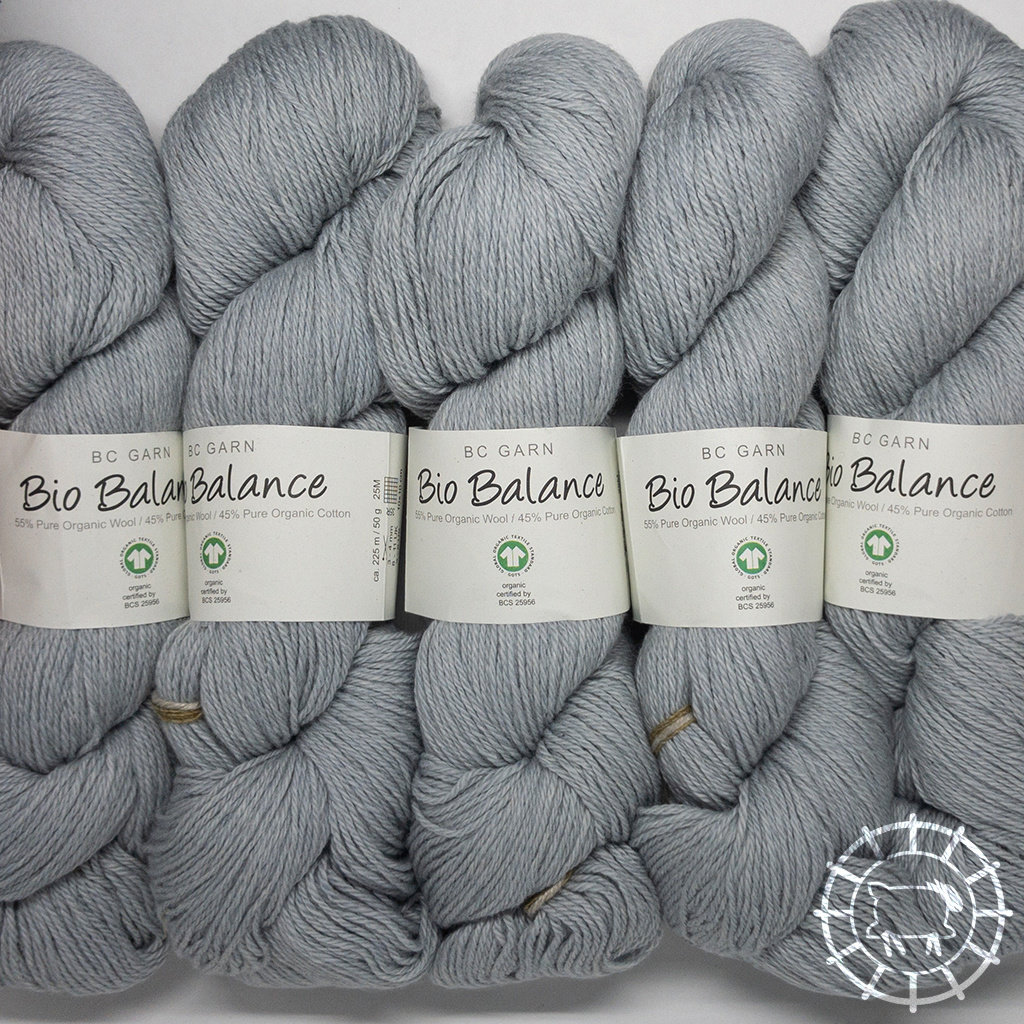 «BC Garn» Bio Balance – Hellgrau