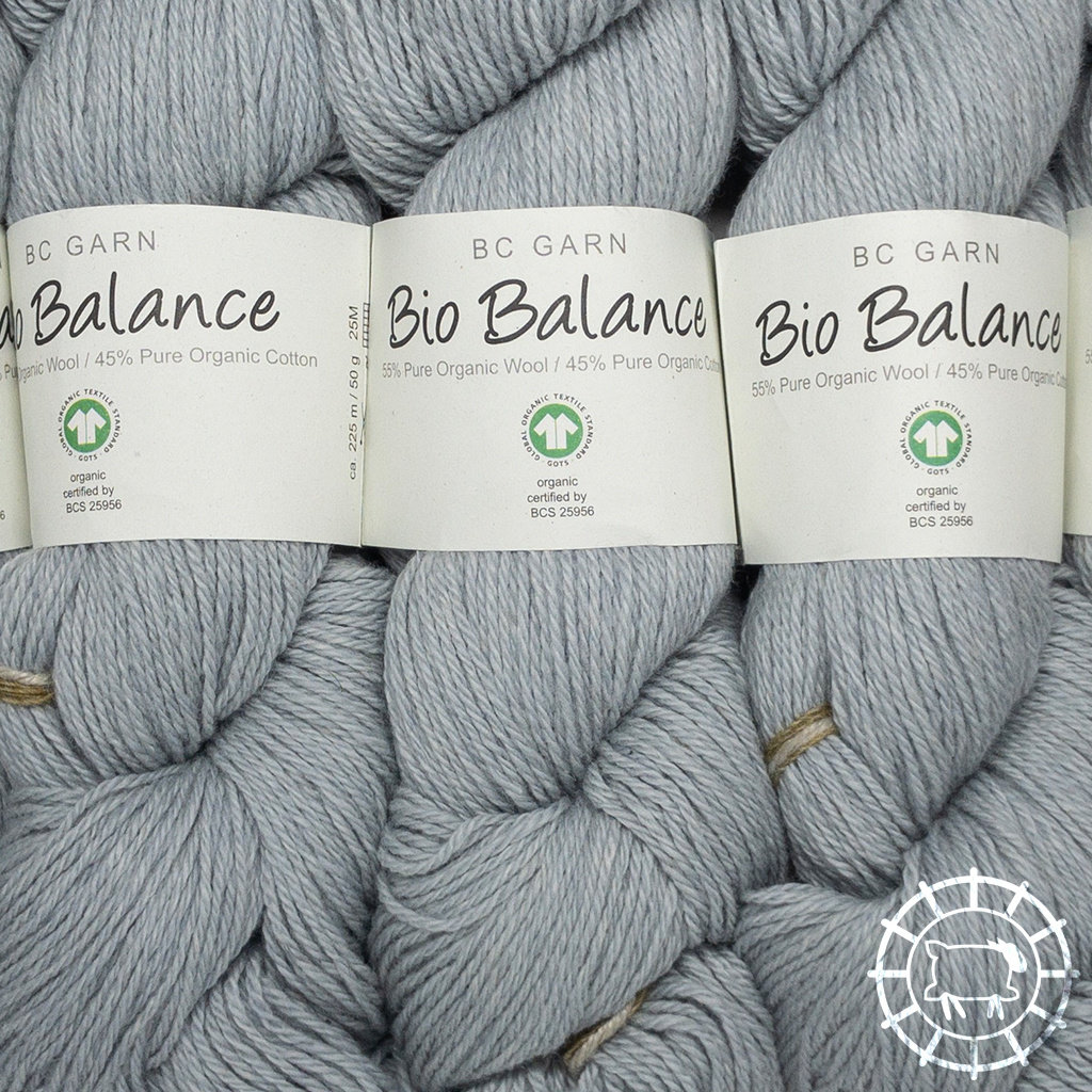 «BC Garn» Bio Balance – Gris clair