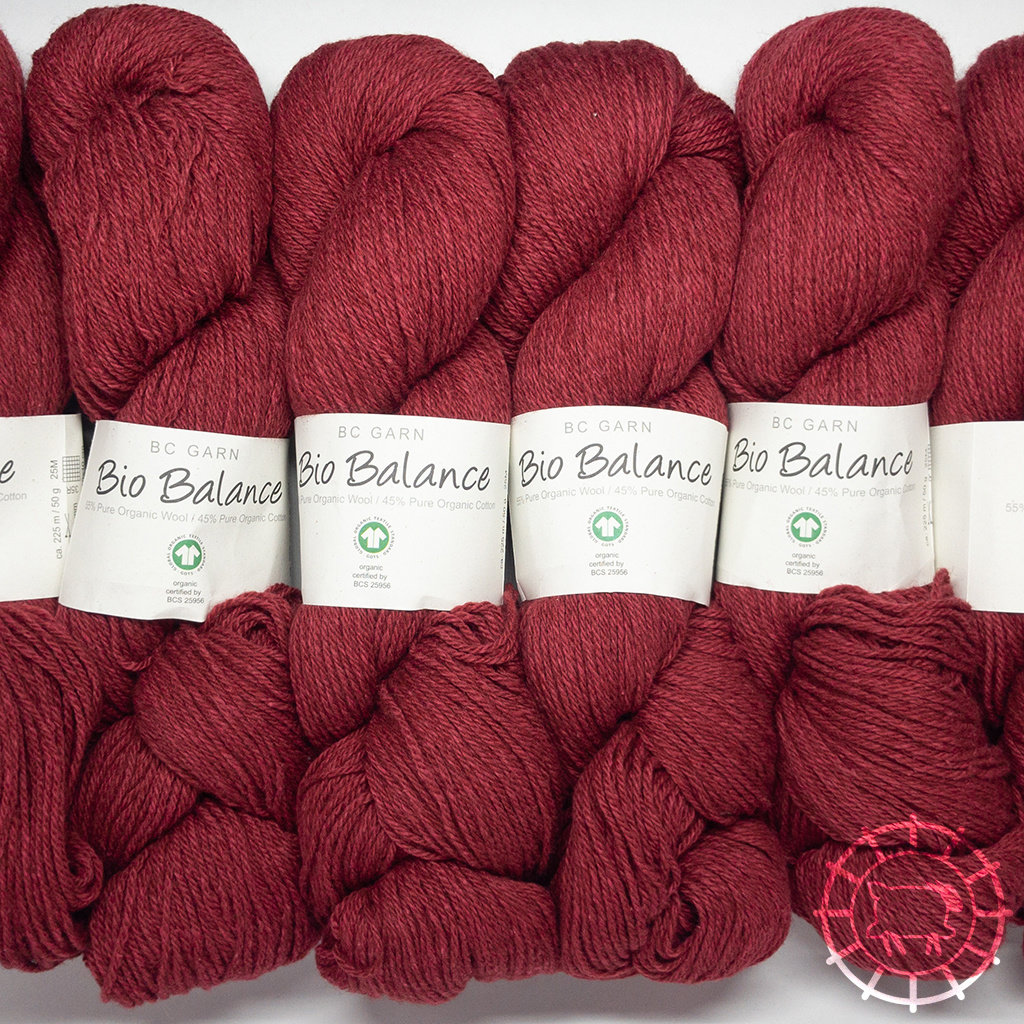 «BC Garn» Bio Balance – Rouge